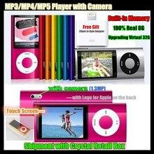5th Built in 8GB Memory Virtual 32G 2 2 LCD ScreenSport MP3 MP5 HD Player FM