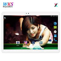 2018 Newest 2 5D Tempered Glass 10 Inch Tablet PC Android 7 0 4GB RAM 1280