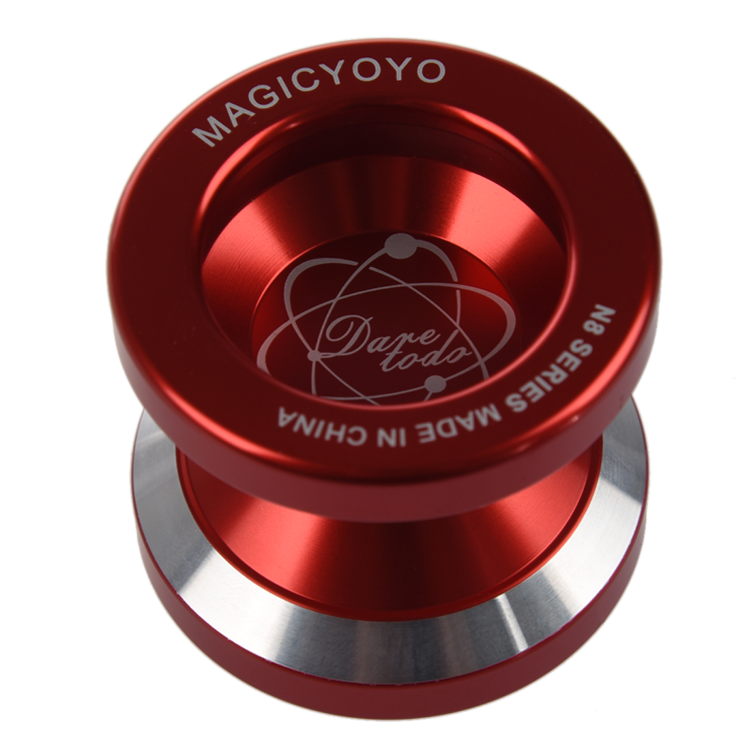 New Magic Yo-Yo N8 Super Professional YoYo + String + Free Bag +Free Glove (Red)