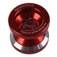 Nova magia yo-yo n8 super profissional yoyo + corda + saco livre + luva grátis (vermelho)