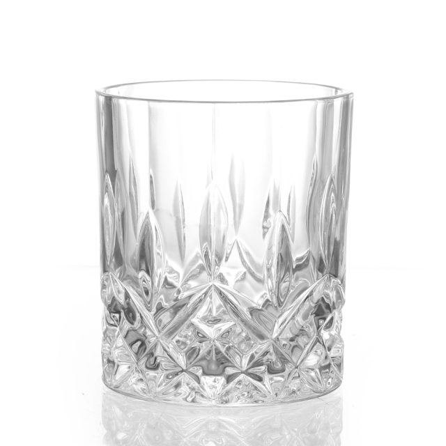 Round Crystal Whiskey Glass
