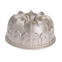 4inch Cake Mold Gold Mini Lily Non Stick Hollow Cake Baking Mold Bundt Pan Cast Aluminum