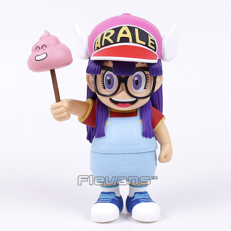 Anime Cartoon Dr.Slump Arale with Faeces PVC Action Figure Toy Doll 8 20CM 4x wholesale adual use auto light car lamp t10 7 5w car led bulb led wedge bulb 194 168 192 w5w lamp h1 h3 h4 h7 h8 h9 h11