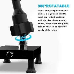 Image 4 - אופנוע כידון אופני טלפון סלולרי נייד הר מחזיק תמיכת טלפון Moto GPS אופניים סיליקון X גריפ נייד טלפון Stand