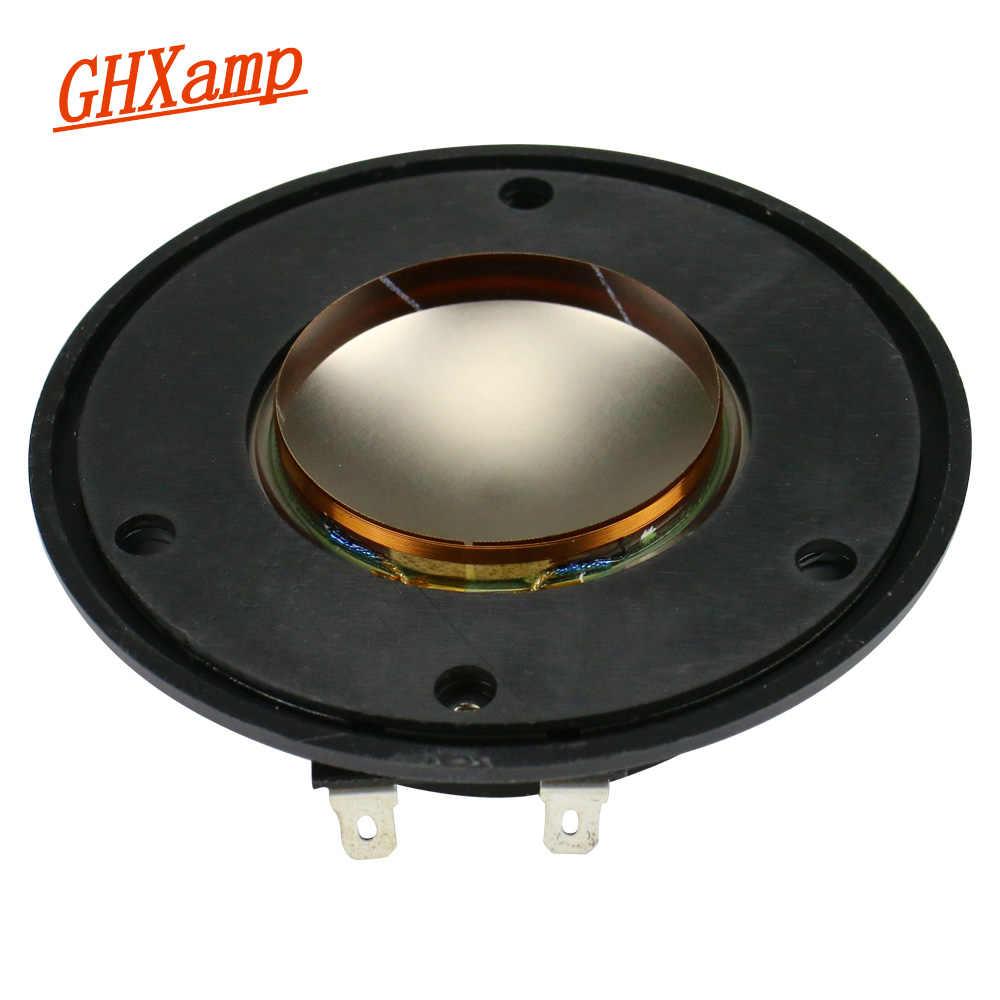 Bobine vocale de Tweeter GHXAMP 44.4MM 8Ohm haut-parleur aigu pièces de réparation importé Film titane Module de film sonore 1 pièce