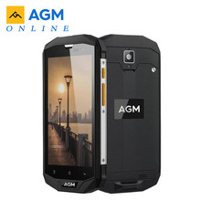 "Orijinal AGM A8 SE IP68 su geçirmez cep telefonu 5.0 ""HD 2GB RAM 16GB ROM Qualcomm MSM8916 dört çekirdek 8MP + 2MP 4050mAh akıllı telefon"