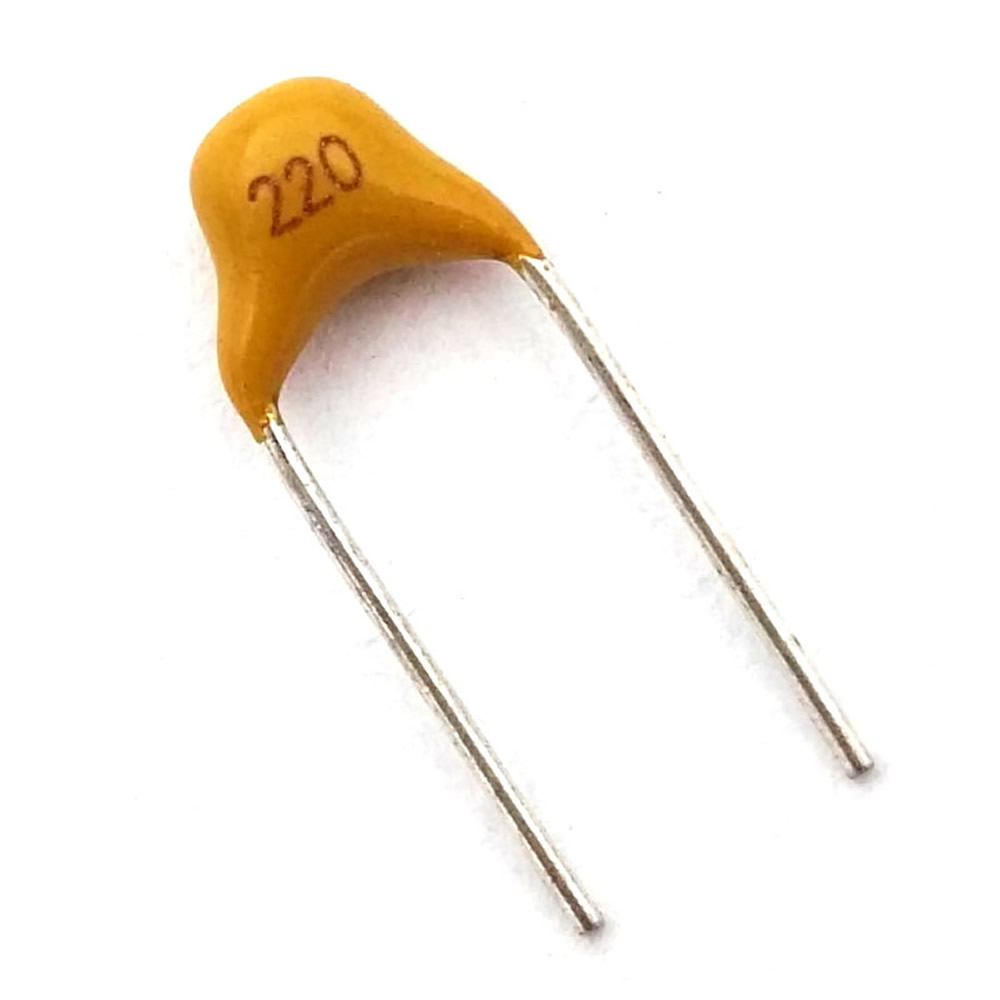 US $1 98 |McIgIcM 200pcs 50V monolithic ceramic capacitor multi layer  ceramic capacitor p=5 08mm 47pF 100pF 150pF 220pF 330pF-in Capacitors from