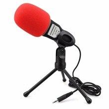 NUEVO Podcast de Condensador Profesional Sound Studio Micrófono Micrófono Para PC Portátil Skype MSN