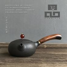 TANGPIN black ceramic teapot kettle chinese kung fu tea set
