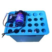 Home لتقوم بها بنفسك 24 حفرة الضباب ضباب زراعة الخضروات زهرة زراعة صندوق زراعة طريقة Aeroponics Soilless معدات الزراعة