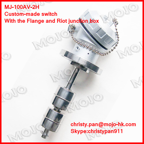 ФОТО free shipping! MJ-100AV-2H 50W 220V 1A customer-made OEM oil tank Series need to OEM level switch oil level gauge sensor