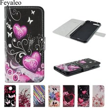 Leather Flip Case For iPhone 7 7Plus 8 8Plus X Back Cover Fundas For iPhone 5 5s SE 6 6s 6Plus 6sPlus 4 4S Wallet Cover Shell(China)