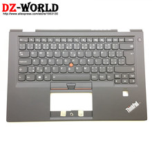 Palmrest Backlit-Keyboard Thinkpad Lenovo New for X1 Carbon 4th-Gen 4-Mt:20fb 20fc/Czech/Cz