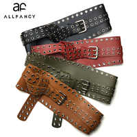 Women Ultra Wide Belt Adjustable Slim Corset Body Shaper Black Faux Leather Design Strap Belt Slimming Corset ring belt