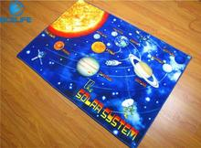 Montessori Materials Solar System Children Kid Baby Play Mat Crawling Game Blanket Baby Kid Infant Carpet Mats Toys