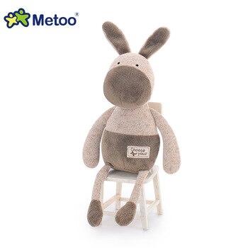 Мягкая плюшевая игрушка ослик Metoo 6