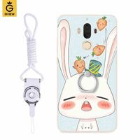 Gview для Huawei Mate 10 mate10 силиконовые high end чехол матовый темляка кронштейн Телефон Чехол Мягкий скраб сбоку