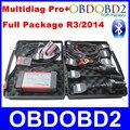Multidiag Pro 2014 R2/R3 Бесплатный Активировать OBD2 Сканер Multidiag Pro Работа Автомобилей/Грузовик, Полный Пакет Зеленый PCB Board Diagnostic Tool