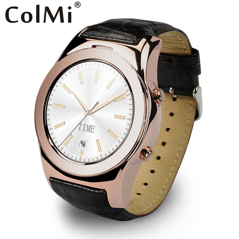 ColMi Smart Watch VS15 MTK2502 Heart Rate Tracker Sync Notification Support SIM Card for Android IOS