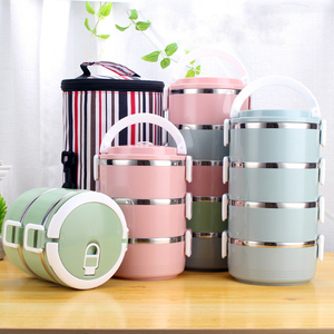 Thicken Stainless Steel Lunch Box Adult Japanese Bento Box School Camping Food Container For Kids Portable Picnic Tiffin Box