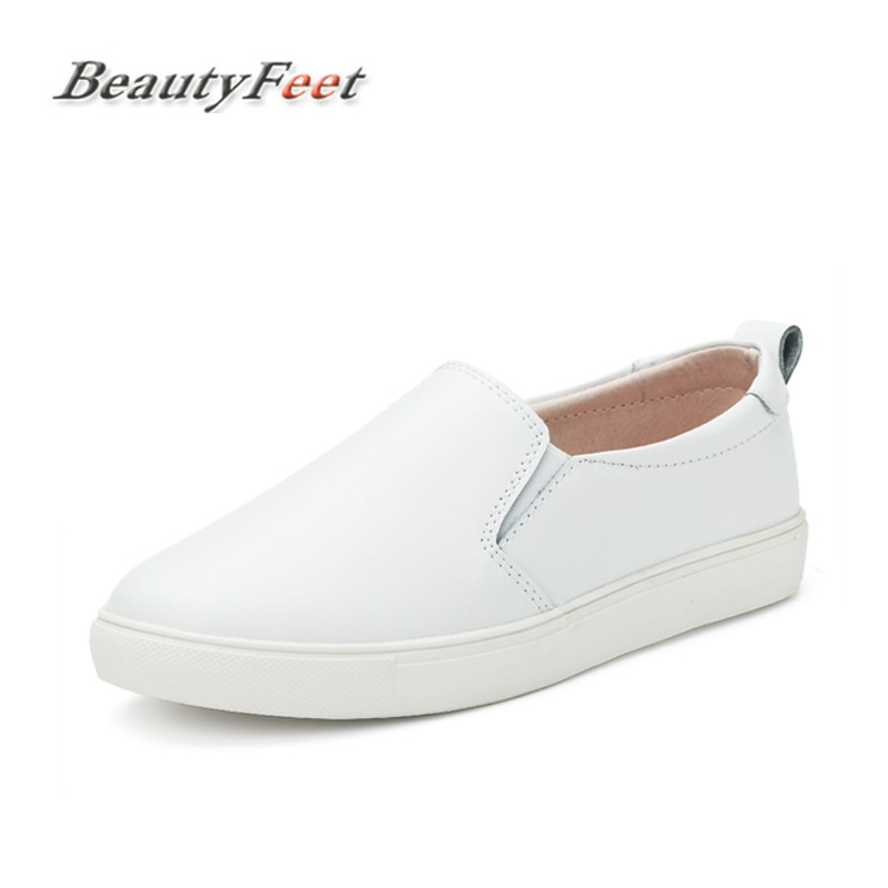 BeautyFeet New Fashion Casual Women Flats Shoes Female Leisure Solid Women Shoes Breathable Moccasins Loafers Ladies Flats Shoes beautyfeet women shoes female genuine leather lace up casual shoes woman flats white shoes candy color breathable ladies shoes
