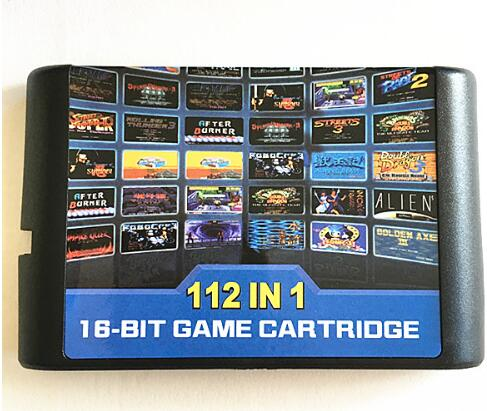 Top 112 in 1 For Sega Megadrive Genesis Game Cartridge with Contra Gunstar Heroes Alien Soldier Streets of Rage Sonic Golden Axe недорго, оригинальная цена