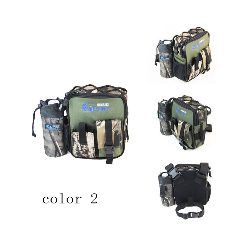 Security & Protection Ilure Fishing Leg Waist Bag Multi-pocket Outdoor Fishing Tackle Bag Pack Waterproof Belt Bag Bolsa Fishing Tools Storage Pouch