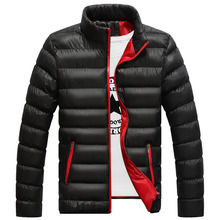 Winter Jacket Men 2016 New Spring Men's Cotton Blend Parkas Mens Jacket Coats Casual Thick Fashion For Men Plus Size Male 5XL