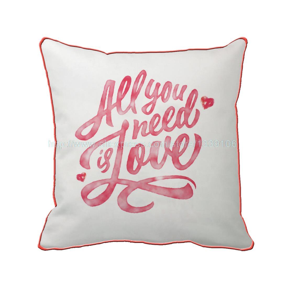 Todo lo que necesitas es amor de San Valentín regalo personalizado ...