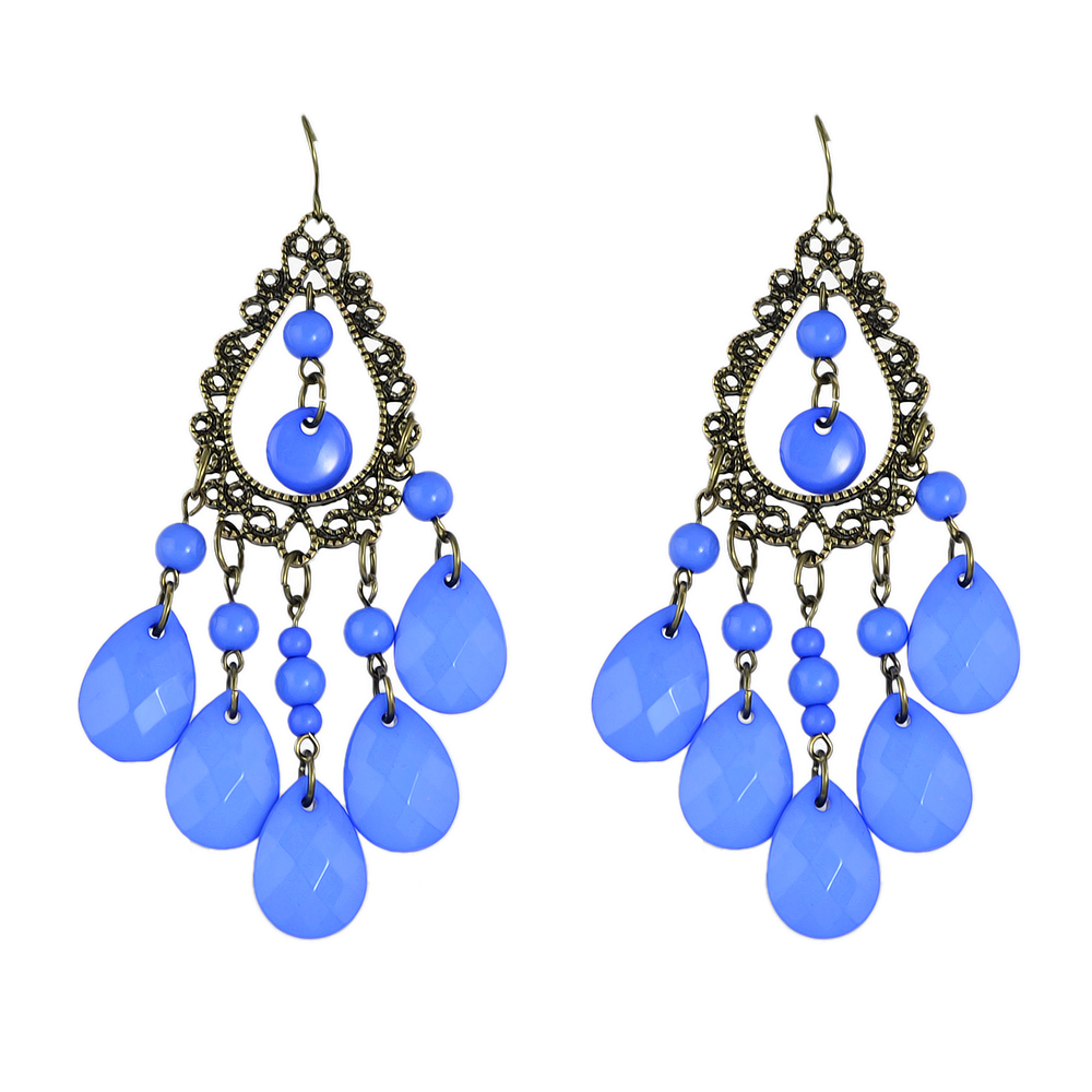 Jufee Vintage Style Jewelry Antique Gold Color Hollow Out Water ...