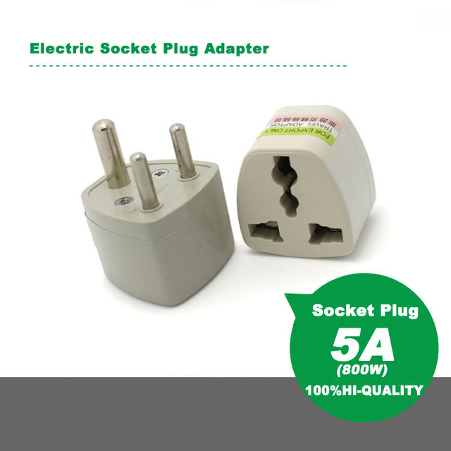 Universal South African Electric Socket Plug Adapter Converter 5a 800w 250v Ac