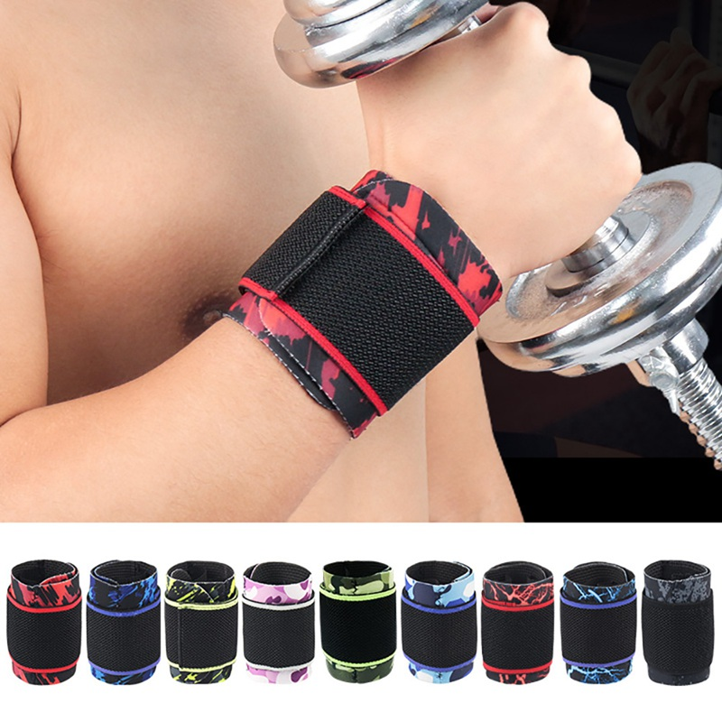 1pcs Men Gym Wrist Band Sports Wristband New Wrist Brace Wrist Support Splint Fractures Carpal Tunnel Wristbands for Fitness(China)