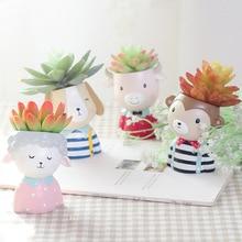Cute Animals Small Succulent Flower Pot