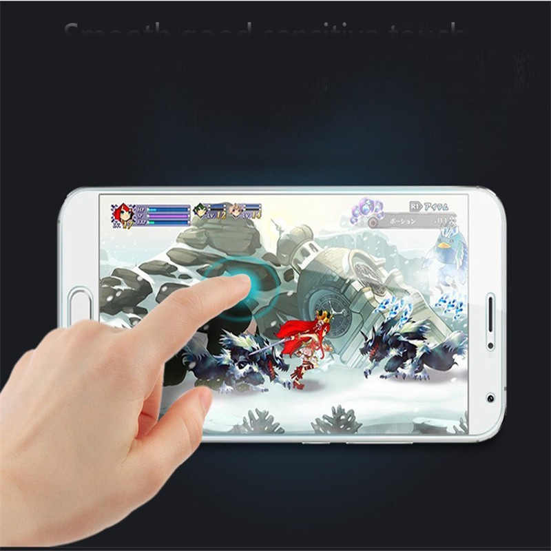 (TaiRuiXing) screen protector film 0.3mm 9 h 25d depan premium tempered kaca untuk huawei honor y3 y3c y336 y360 penutup