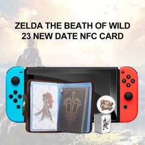 Image 2 - La carta dei Giochi di amiibo Compatibile Zelda 23 NFC Carta di Turno 20 Cuore Lupo The Legend of Respiro del selvaggio NS Interruttore