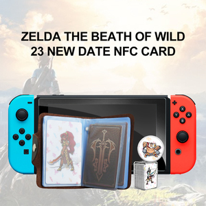 Image 2 - Tarjeta de videojuegos Compatible con Zelda 23, NFC, 20, Heart Wolf, The Legend of Breath of the wild, NS Switch