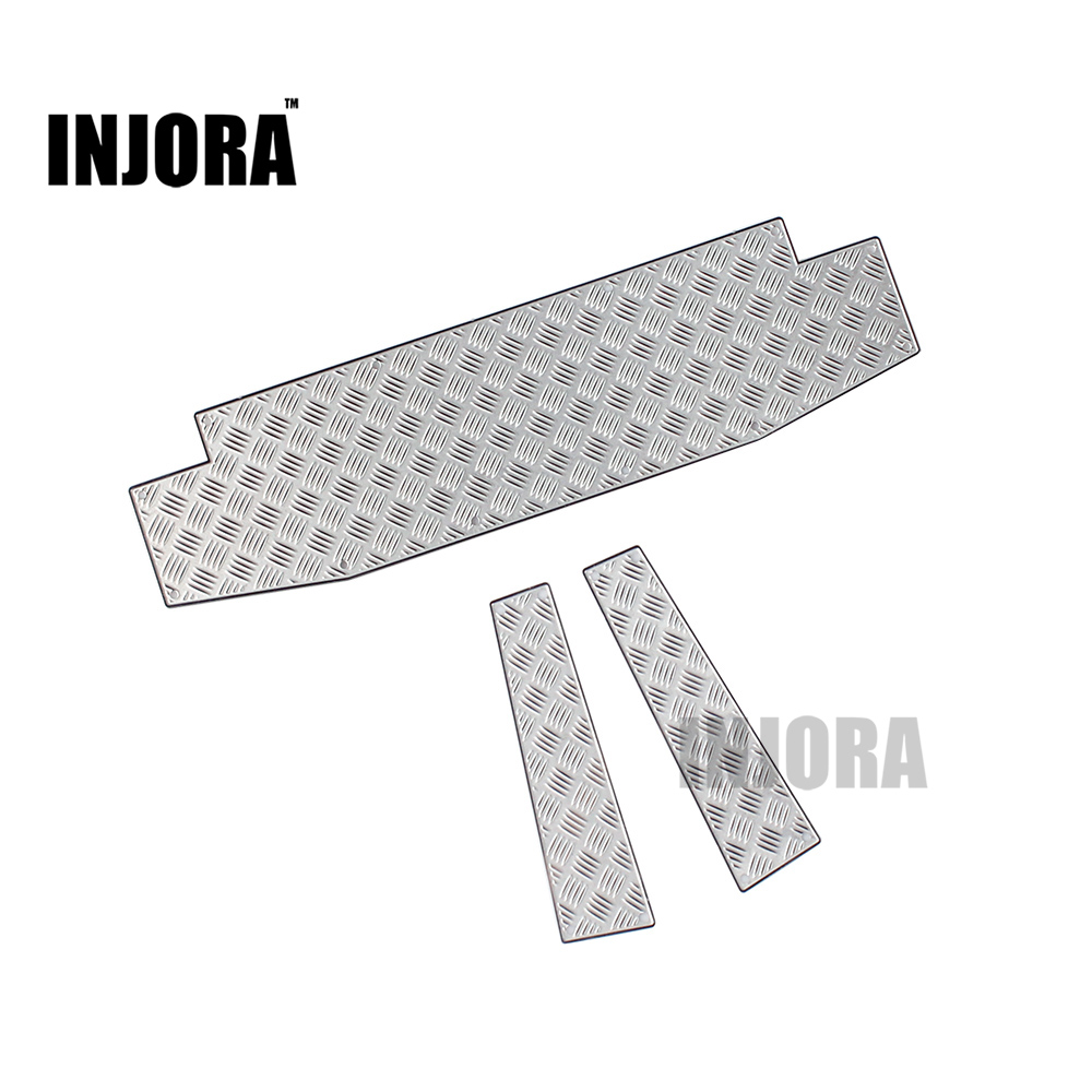 Metal TRX4 Anti-Skid Plate for 1/10 RC Crawler Traxxas TRX-4 TRX 4 Front/Rear Bumper classic trx4 metal front bumper for 1 10 rc crawler traxxas trx 4 trx 4