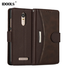 IDOOLS Case For Xiaomi Redmi Note 3 Pro PU leather Wallet Flip Cover Magnetic Phone Bags