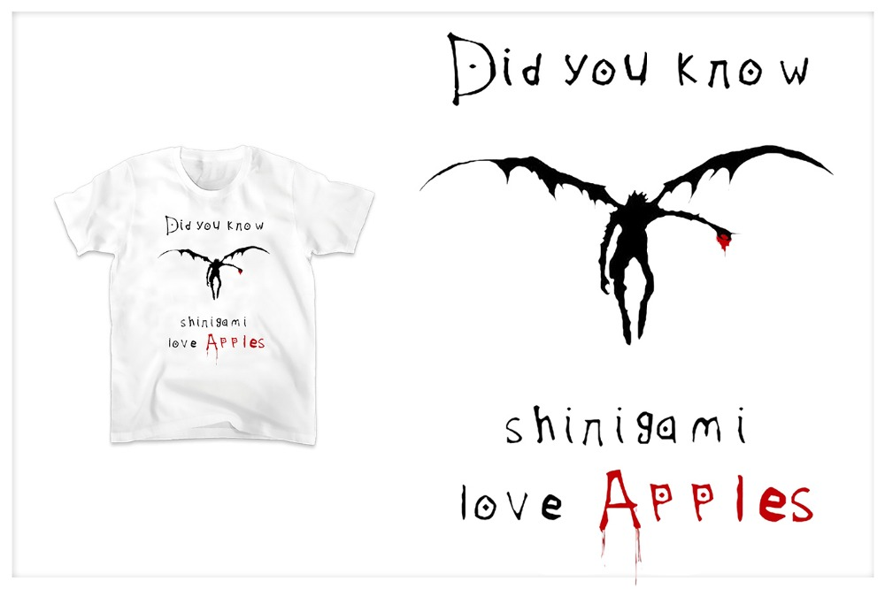 Did you know shinigami love apples