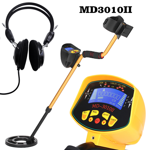 MD3010II High Metal Detector Sensitivity High Performance Underground Gold Detectors Digger Treasure Hunter Finder Seeking Tools