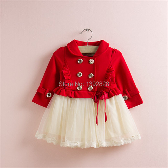 Autumn models girls dress, flower long sleeve baby girls dress children kid dress young kids clothes