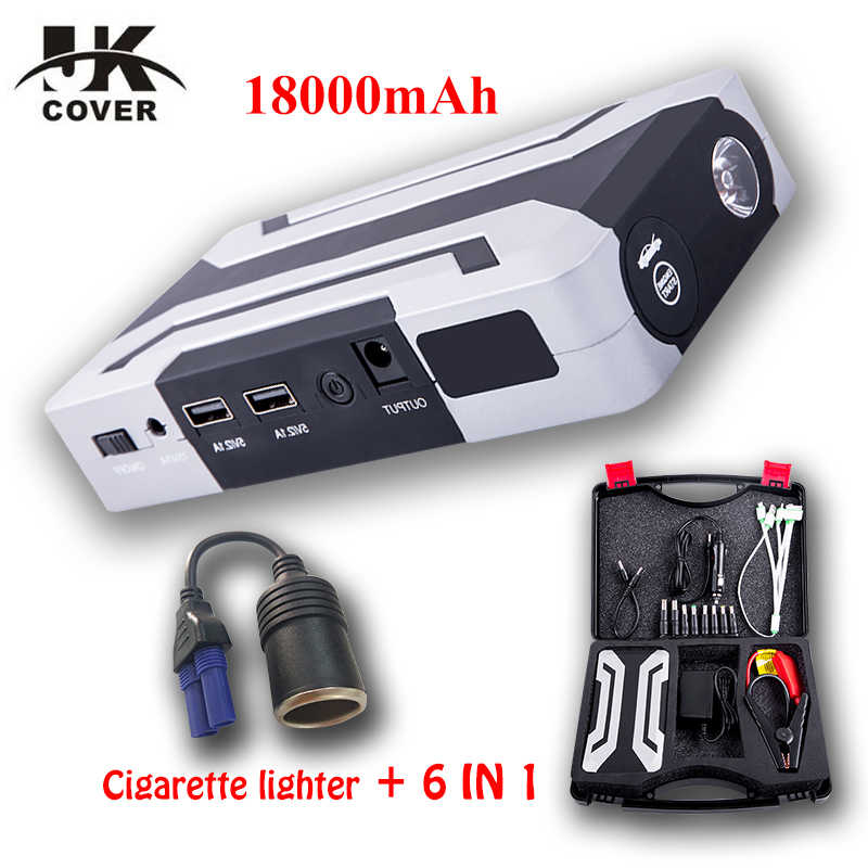 Petrol 8.0L Diesel 6.0L Start Device 1200A 12V Car Battery Jump Starter Auto Jumper Engine Power Bank Starting Up  Car booster