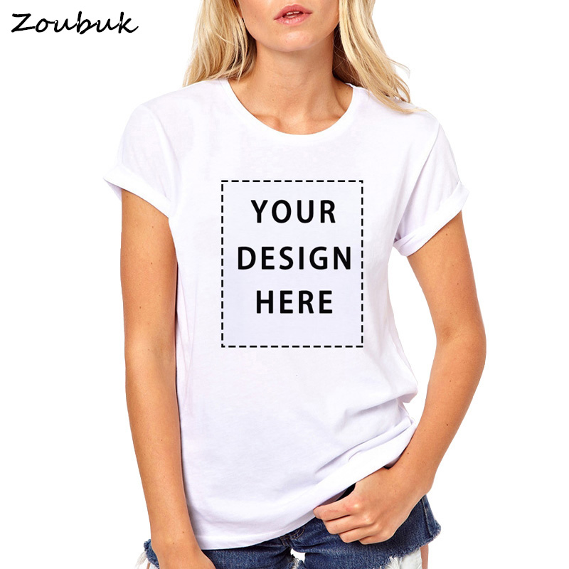 Customized T shirt Women Your Own Custom Text Name Personalized Message or Image Unisex Casual T-Shirt Tops Tee