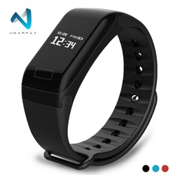 Wearpai F1 Smart Bracelet Heart Rate Monitor Blood Pressure Smart Band Health Fitness Tracker Smart Wristband for Android iOS