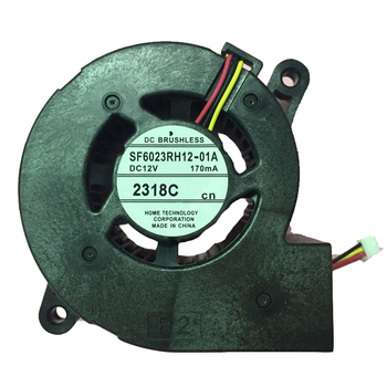 NIDEC 6cm D06F-12BS3 12V 0.29A 3Wire Projector Cooling Fan