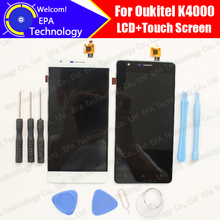 """Oukitel K4000 ЖК-дисплей Дисплей + Сенсорный экран планшета 100% оригинал Новый ЖК-дисплей Экран Стекло Панель сборки для Oukitel K4000 5.0"""""""