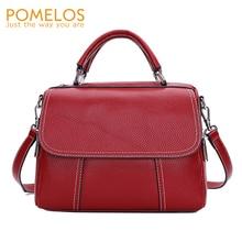 купить POMELOS Brand Crossbody Bags For Women Genuine Leather Bags For Women High Quality Shoulder Bag Luxury Designer Handbags 2019 по цене 2975.1 рублей