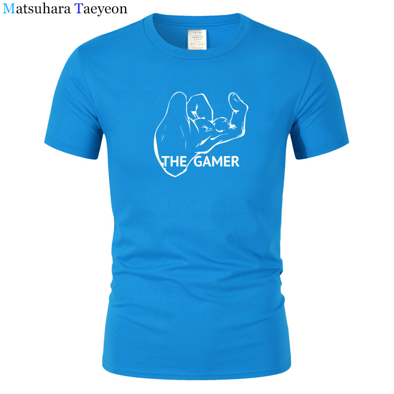 Video Game Printed T-Shirt Men T Shirt Mens Fashion men T Shirts Casual brand Clothing Rayon Tshirt Only do quality