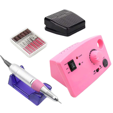 Nail Electric Nail Polisher 35000Rpm Portable Electric Nail Honing Machine Manicure Manicure Set Nail Equipment Can Be Applied pandahall portable manicure nail table for nail station desk beauty salon equipment black white foldable nail desk