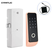 CYPATLIC Digital Smart Password Biometric Fingerprint Lock/ Drawer Safe Box Cabinet Locker